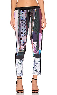 Clover Canyon Nouveau Facade Pant in Multi
