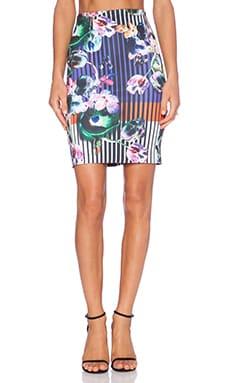 Clover Canyon Night Matador Skirt in Multi