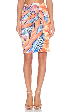 Clover Canyon Birds of a Feather Skirt in Multi