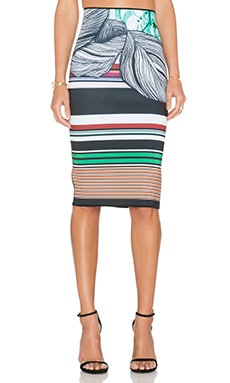 Clover Canyon Jade Storm Skirt in Multi