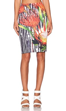 Clover Canyon Brush Stroke Bloom Skirt in Multi