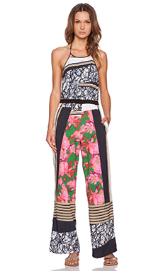 Clover Canyon Scribble Scarf Jumpsuit in Multi