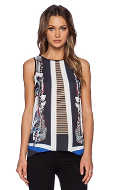Clover Canyon Ancient Parallels Top in Multi