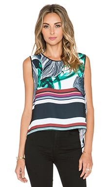 Clover Canyon Jade Storm Top in Multi