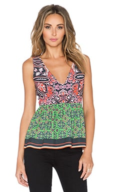 Clover Canyon Native Paisley Top in Multi