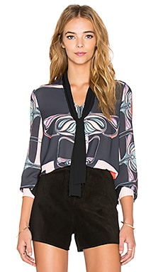 Clover Canyon Floral Nouveau Top in Multi