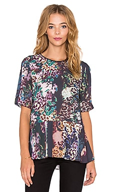 Clover Canyon Floral Filter Top in Multi