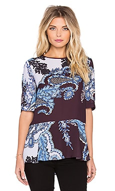Clover Canyon Autumn Paisley Top in Multi