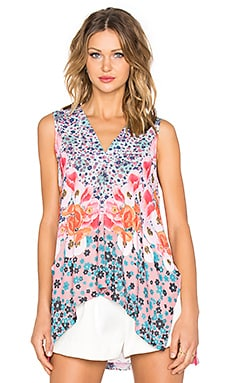 Clover Canyon Poppy Blossoms Top in Multi