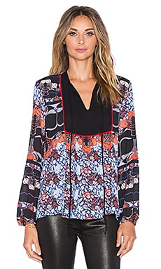 Clover Canyon New Horizons Blouse in Multi