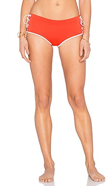 Clover Canyon Bikini Bottom in Red
