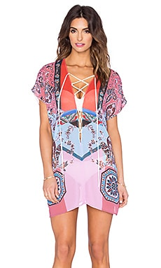Clover Canyon Modern Paisley Cover Up in Multi