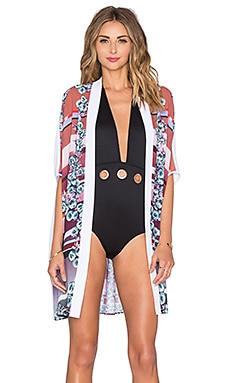 Clover Canyon Seaside Horizon Cover Up in Multi