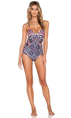 Clover Canyon Native Paisley Bathing Suit in Multi