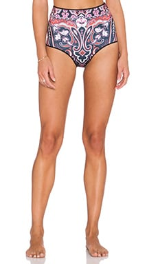 Clover Canyon Native Paisley Bathing Suit Bottoms in Multi