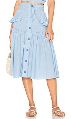 Fara Midi Skirt CLUBE BOSSA $123