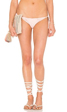 Launder Side Tie Bikini Bottom in Blush