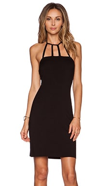 Clayton Rebecca Dress in Black