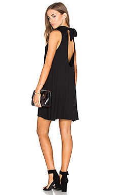 Clayton Mandy Dress in Black