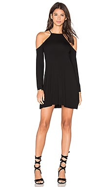 Clayton Everly Dress in Black