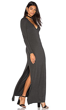 Clayton Stevie Dress in Charcoal