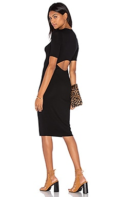 Clayton Kelsey Dress in Black