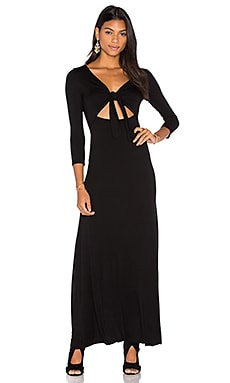 Clayton Aggie Dress in Black