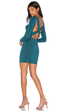 Clayton Uma Dress in Teal