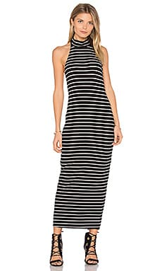 Pou Dress in Chelsea Stripe