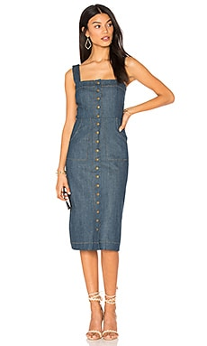 ROBE DENIM MARINA CANDACE