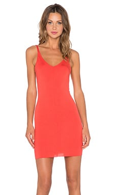 Clayton Carmen Dress in Vermilion