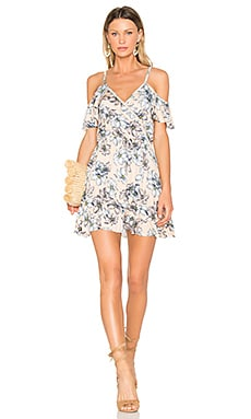 Joni Dress in Bare Floral Sketch