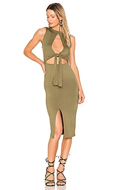 Regan Dress in Olive