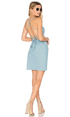 Denim Gidget Dress in Sunfade Denim