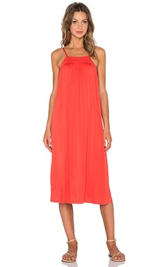 Clayton Jordan Dress in Vermilion