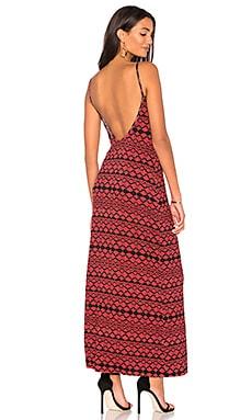 Купить Платье-комбинация evan - Clayton цвет ржавый
