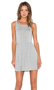 Clayton Serena Dress in Heather Grey