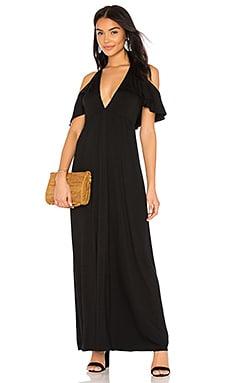 Черное макси-платье grayson - Clayton