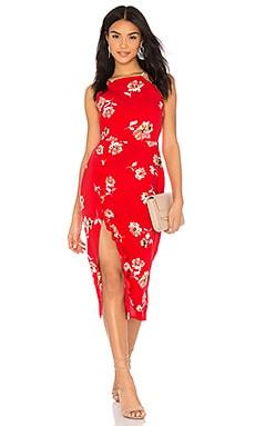 Миди-платье с цветочным рисунком jordy - Clayton