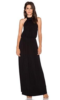 Clayton Evelyn Maxi Dress in Black