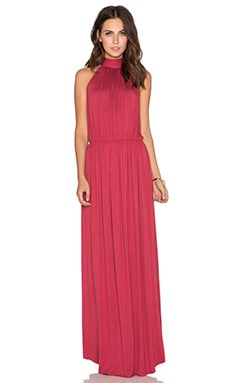 Clayton Evelyn Maxi Dress in Wine