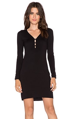 Clayton Karen Mini Dress in Black