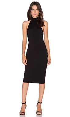 Clayton Gabrielle Bodycon Dress in Black
