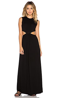 Clayton Emily Maxi Dress in Black