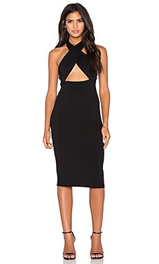 Clayton Krissa Dress in Black
