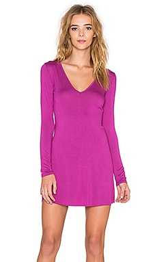 Clayton Paige Reversible Dress in Orchid