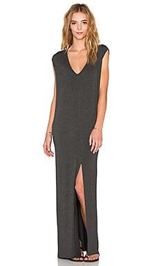 Clayton x REVOLVE Roper Maxi Dress in Charcoal