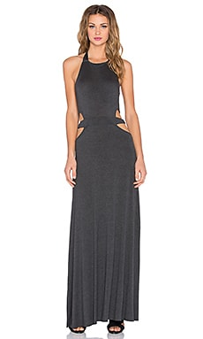 Clayton Kay Dress in Charcoal