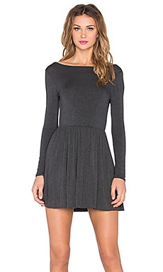 Clayton Jessie Dress in Charcoal