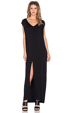 Clayton x REVOLVE Roper Maxi Dress in Black